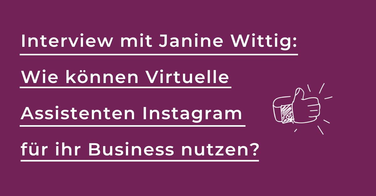 Instagram Social Media Kunden finden Virtuelle Assistenten