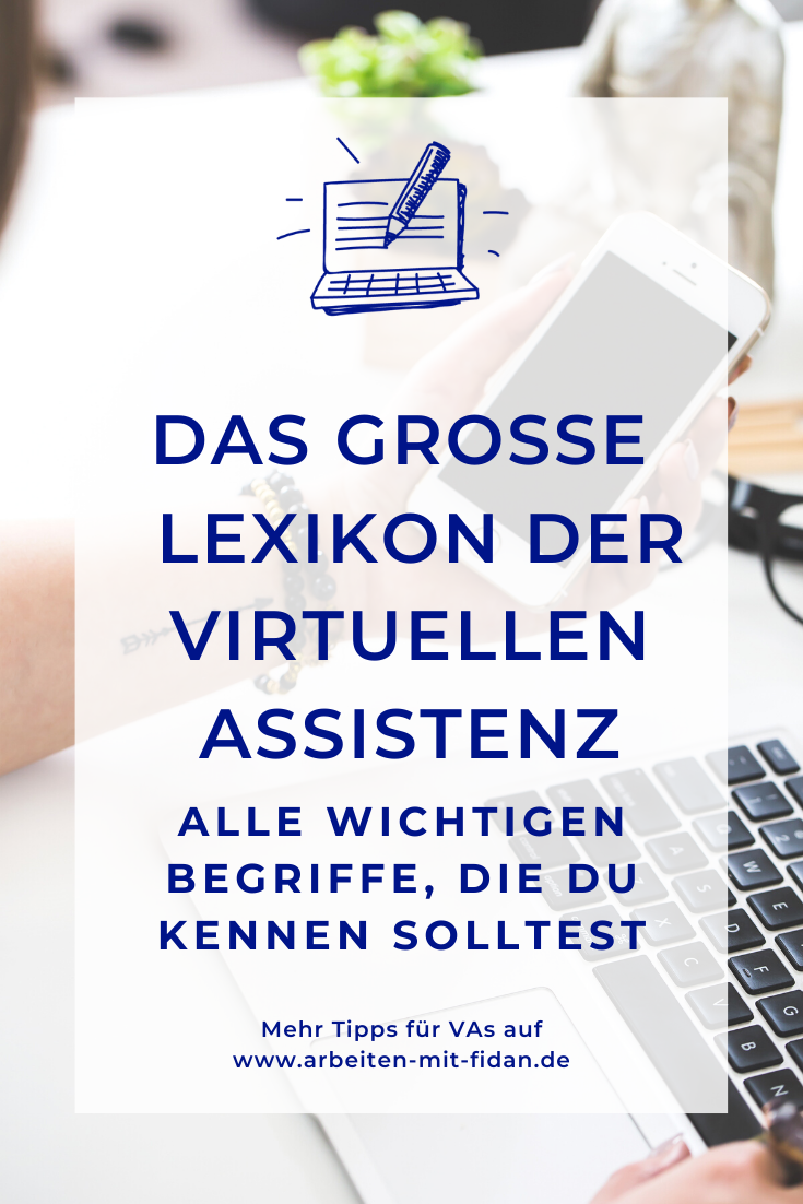 Glossar Virtuelle Assistenz