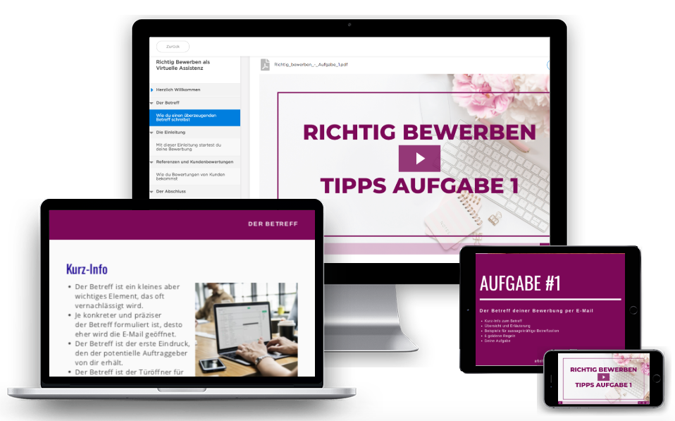 Bewerbungstraining Virtuelle Assistenz