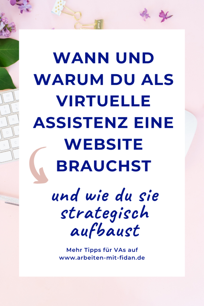 Gastartikel Victoria Weber Virtuelle Assistenz Website