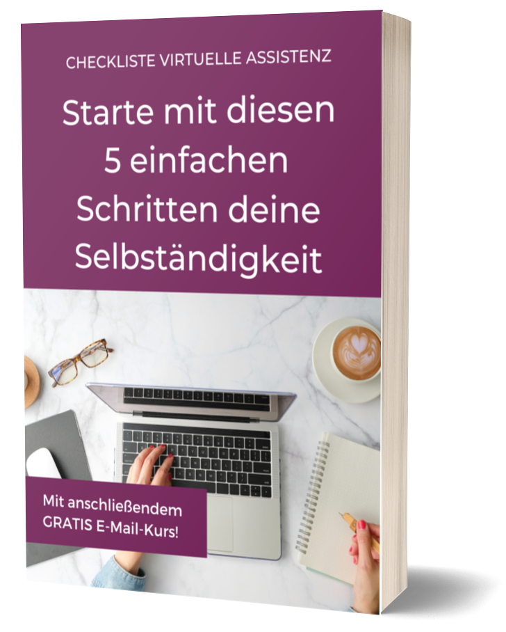 Checkliste Start Virtuelle Assistenz